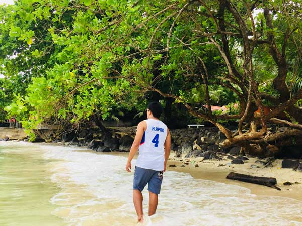 villa arcadia white sand beach